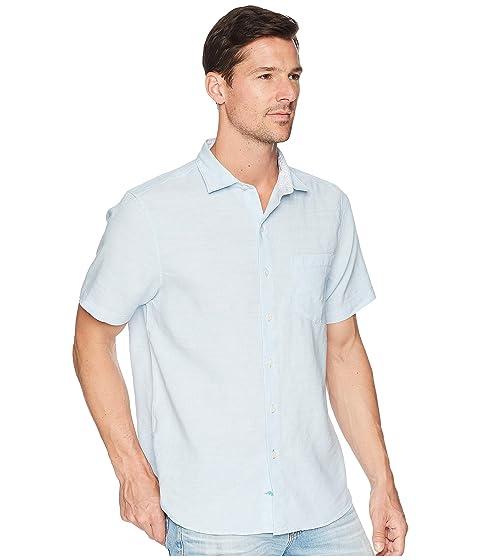camisa fresco Bahama manga aire Tides Lanai Tommy corta de lino UBgqXAZ