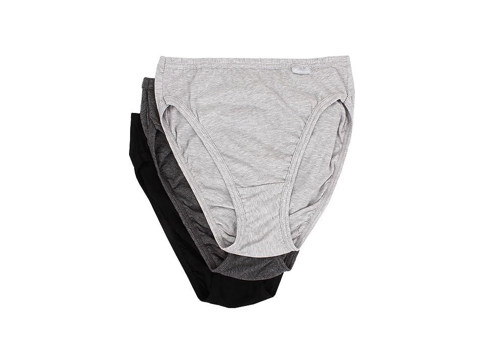 ac6900edc5fe UPC 037882159281 product image for Jockey - Elance French Cut 3-Pack (Grey  Heather ...