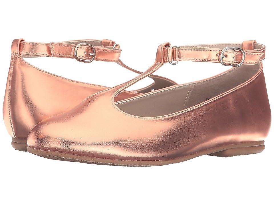 Jumping Jacks Kids Balleto Tracy (Toddler/Little Kid/Big Kid) (Rose Gold Shiny) Girls Shoes