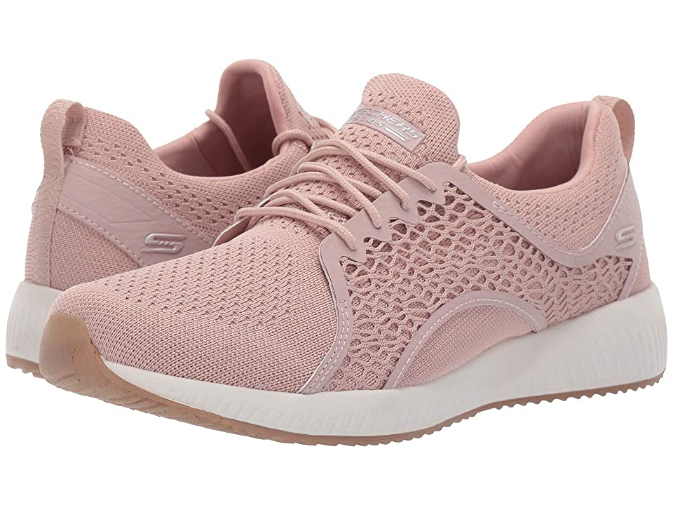BOBS from SKECHERS Bobs Squad - Pocket Ace (Blush) Women's Lace up casual Shoes