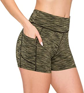 Always Women's High Waist Yoga Pants - Compression Running Workout Activewear Bike Capri Full Leggings
