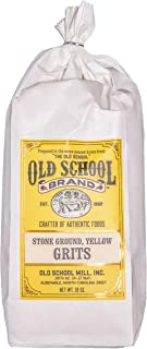 Old School Brand Stone Ground Yellow Grits - 2 Pound Bag