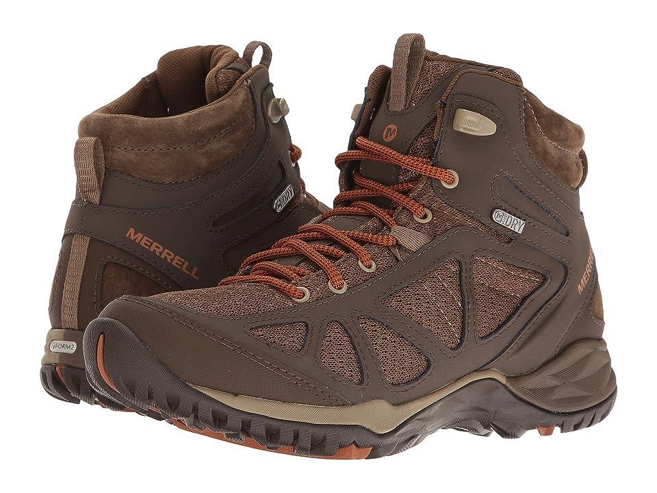 Merrell Siren Sport Q2 Mid Waterproof (Slate Black) Women's Shoes