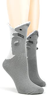 Foot Traffic, Women's 3D Socks, Fits Women's Shoe Sizes 4-10