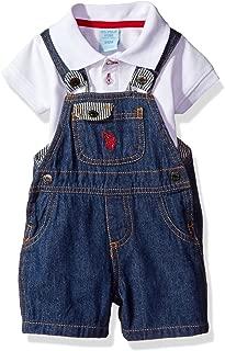 Baby Boys' 2 Piece Polo Shirt and Shortall Set