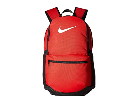 Mochila Red mediana Nike University Black White Brasilia 67BAwv
