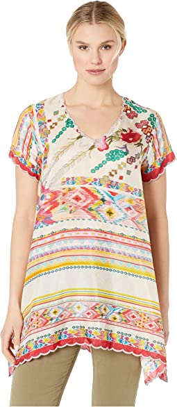 9553941ab Johnny was patchwork sleeve tunic, Clothing | Shipped Free at Zappos