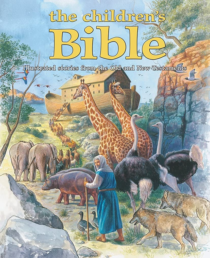 扱う質素な違うThe Children's Bible: Illustrated stories from the Old and New Testaments (English Edition)