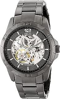 Men's Brennan Automatic Stainless Steel Sport Watch, Color: Gunmetal (Model: ZR11853)