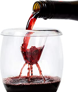 Wine Aerator by IPOUR Premium Pourer Fits Wine Glass or Decanter