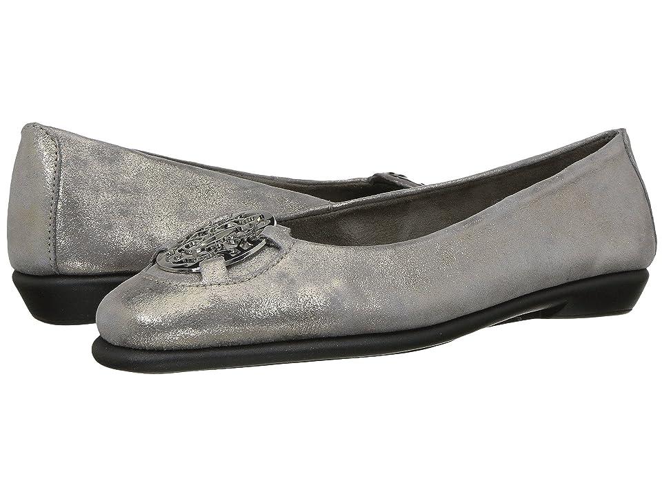 Aerosoles Exhibet (Silver Suede) Women