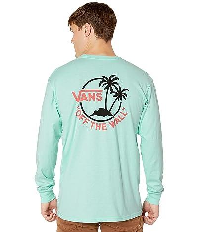 Vans Surf Palm Long Sleeve (Mint) Men
