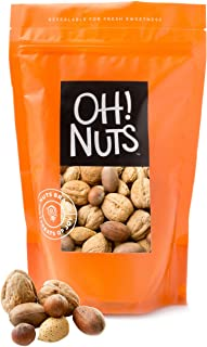 Mixed Nuts in Shell - Oh! Nuts (3 Pound Bag)