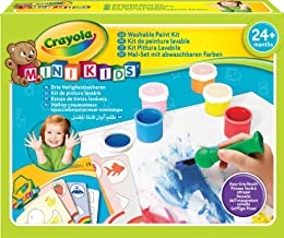 CRAYOLA Mi Primer Kit de Pintura