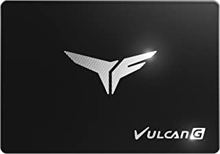 TEAMGROUP T-Force Vulcan G 1TB 2.5 Inch SATA III 3D NAND Internal Solid State Drive SSD, Read/Write Above 500MB/s - T253TG...