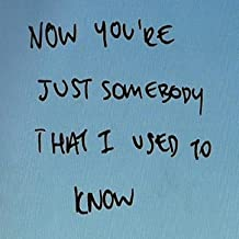 Somebody That I Used to Know - Single [Explicit]