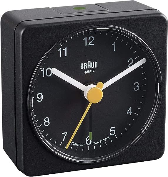 Braun BNC002 Classic Travel Alarm Clock Black