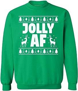 Awkward Styles Jolly AF Sweatshirt Jolly Sweatshirt Jolly Christmas Sweater