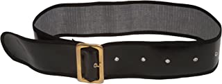 Men's Shiny Belt with Gold Buckle