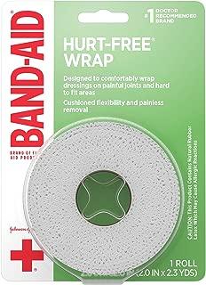 Band-Aid Medium Hurt Free Wrap, 1.2 Ounce