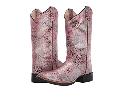 Old West Boots Ruby (Antique Pink) Cowboy Boots