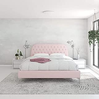 CosmoLiving by Cosmopolitan Astoria Bed, Light Pink
