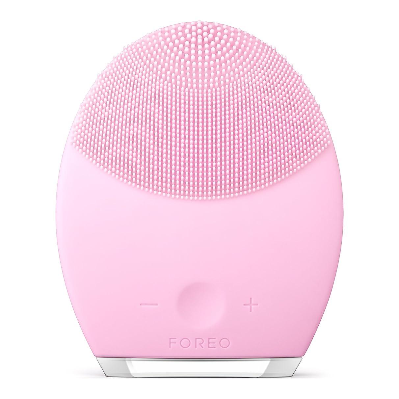 スキャンコーン気質FOREO LUNA 2 for ノーマルスキン 電動洗顔ブラシ シリコーン製 音波振動