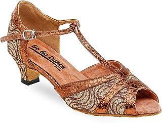62008b1a807 On The Go Ladies Latin Rhythm Ballroom Dance Shoes w 1.3 Inch Heels GO730
