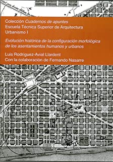 Evolución histórica de la configuración morfológica de los asentamientos humanos y urbanos: Colección Cuadernos de apuntes. Urbanismo I: 1