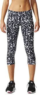 adidas Women's Ultimate 3/4 Tights Metro Static Print