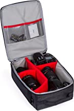 G-raphy Camera Insert Bag Camera Case for DSLR SLR Cameras (Grey Insert)