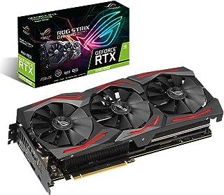 ASUS ROG Strix GeForce RTX 2060 Super Advanced Edition 8GB GDDR6 - Tarjeta gráfica (Ventiladores Wing-Blade, Dual BIOS, Auto-Extreme, SAP II, MaxContact, GPU Tweak II, Aura Sync, FanConnect II)