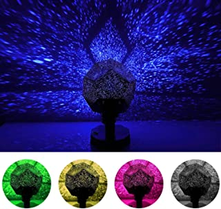eBought Star Night Light Projector, DIY Sky Projection Night Lamp 12 Constellation Lights for Kid Baby Bedroom,Christmas Gift