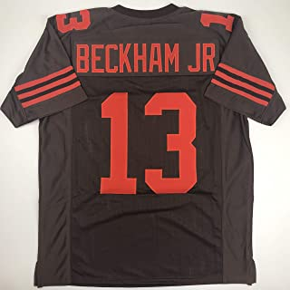 Unsigned Odell Beckham Jr. Cleveland Color Rush Custom Stitched Football Jersey Size Men`s XL New No Brands/Logos