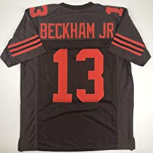 Unsigned Odell Beckham Jr. Cleveland Color Rush Custom Stitched Football Jersey Size Men's XL New No Brands/Logos