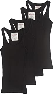 Trendyfriday 4 Pack or 2 Pack Women's Basic Ribbed Tank Top
