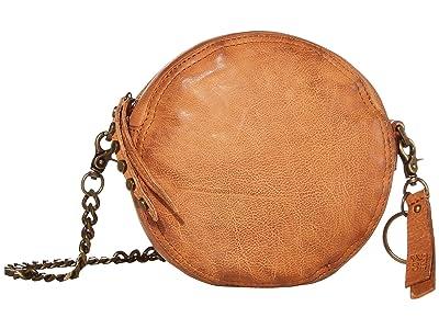 FRYE AND CO. Riley Circle Bag (Cognac) Cross Body Handbags