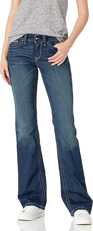 ARIAT Women's R.E.A.L. Mid Rise Bootcut Jean