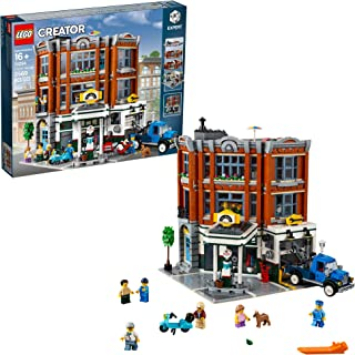LEGO Creator Expert Corner Garage 10264 Building Kit, New 2019 (2569 Pieces)
