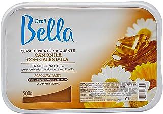 Cera Depilátoria Camomila e Calêndula 500g, Depil Bella
