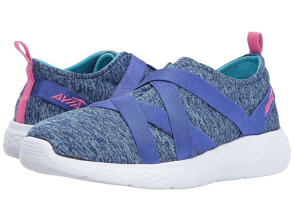 Avia Kids Avi-Karma (Little Kid/Big Kid) (Goddess Blue/Detox Blue/Pink Energy) Girls Shoes