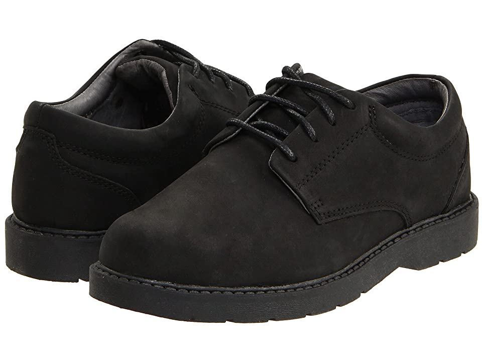 School Issue Scholar (Toddler/Little Kid/Big Kid) (Black Oily Nubuck) Boys Shoes