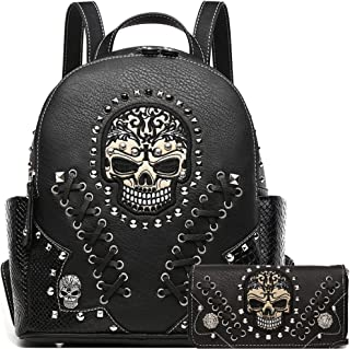 Best skull purse and wallet set Reviews
