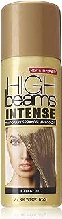 High Ridge High beams intense temporary spray on hair color, gold, 2.7 ounce, 2.7 Fl Oz