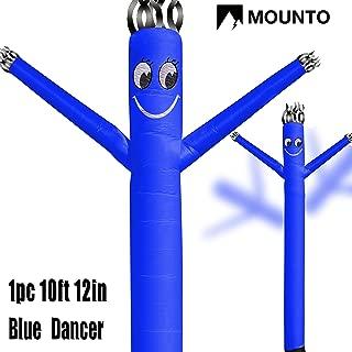 MOUNTO 10ft 12inch Air Puppet Dancer Tube Man Fly Guy Puppet Dancer (Blue)