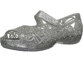20106f9a57216 Crocs Kids Genna II Sparkle Band Sling (Toddler Little Kid Big Kid ...
