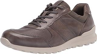 حذاء رياضي رجالي من ECCO Cs20 ممتاز مثقوب للتدريب، رمادي دافئ/رمادي دافئ، 10-10. 5 US