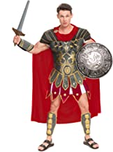 Spooktacular Creations Brave Men's Roman Gladiator Costume Set for Halloween Audacious..