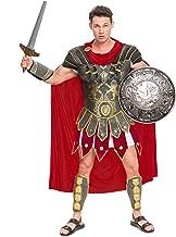 Spooktacular Creations Brave Men's Roman Gladiator Costume Set for Halloween Audacious Dress Up Party