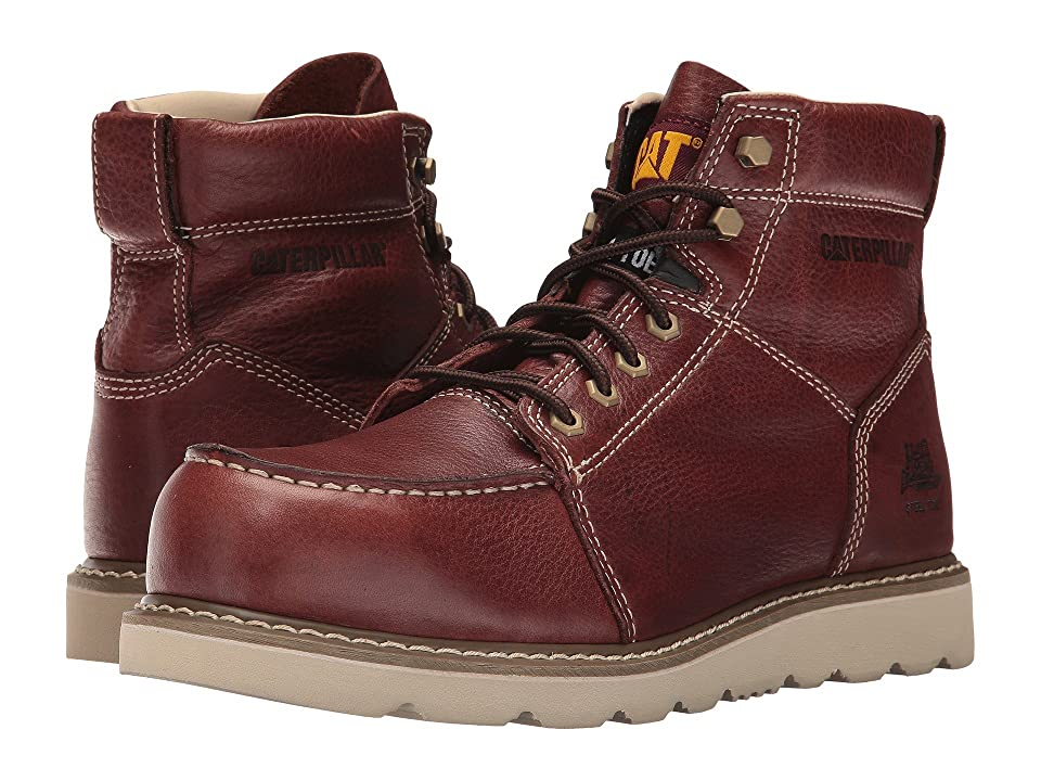 Caterpillar Tradesman Steel Toe (Rust) Men